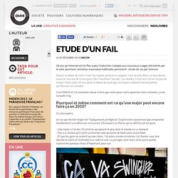 Etude d'un fail » Article » OWNImusic, Réflexion, initiative, pratiques