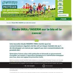 Étude INRA/INSERM sur le bio et le cancer