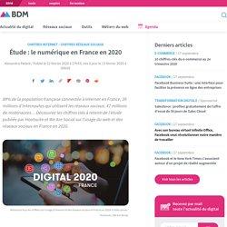 Étude : le numérique en France en 2020