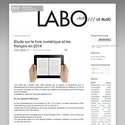 Etude sur le livre numérique et les français en 2014