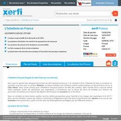 Etude de marché hotellerie en France Xerfi