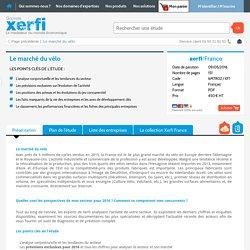 Etude de marché du velo Xerfi