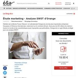 Étude marketing - Analyse SWOT d'Orange