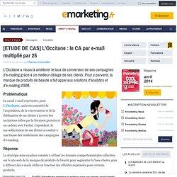 L'Occitane : le CA par e-mail multiplié par 25