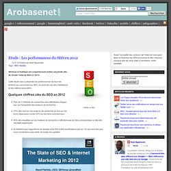 Etude : Les performances du SEO en 2012