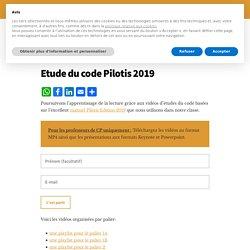 Etude du code Pilotis 2019 – Effet Eurêka