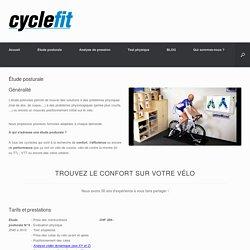 Étude posturale - cyclefit