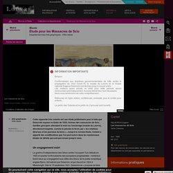 Etude pour les Massacres de Scio