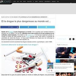 Étude : Quelle est la drogue la plus dangereuse au monde ?