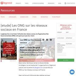 [etude] Les ONG sur les réseaux sociaux en France