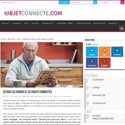 [Étude] Les seniors et les objets connectés