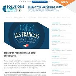 » Etude IFOP Pour Solutions COP21 [infographie]