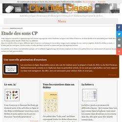 Etude des sons CP