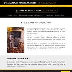 Etude sur le marché du pain - Les artisans gourmands Nouvelle Aquitaine