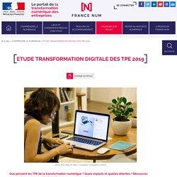 Etude Transformation digitale des TPE 2019