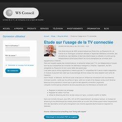 Etude sur l'usage de la TV connectée