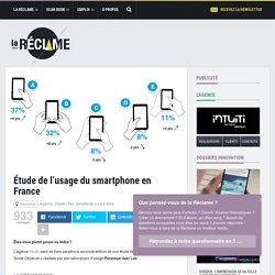 Étude de l'usage du smartphone en France