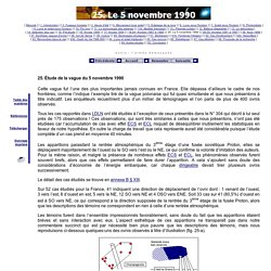 25. Étude de la vague d'ovnis du 5 novembre 1990 (France)