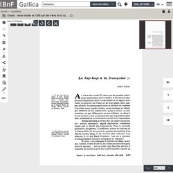 Études : revue fondée en 1856 par des Pères de la Compagnie de Jésus