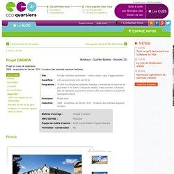 le 1er espace de débat en ligne sur les éco-quartiers et la ville durable