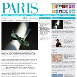 Etudes de genre : 2 lauréats récompensés - Paris.fr