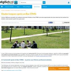 Etudes longues après un Bac STMG