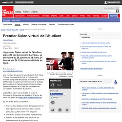 Premier Salon virtuel de l'étudiant