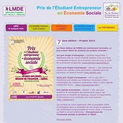 LMDE - Prix de l'Etudiant Entrepreneur en Economie Sociale