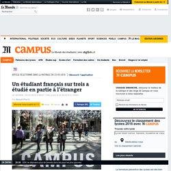 Un étudiant français sur trois a étudié en partie à l'étranger