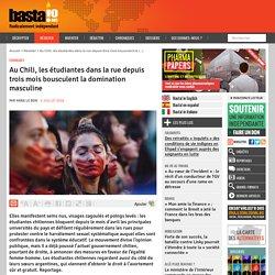 Au Chili, les étudiantes dans la rue depuis trois mois bousculent la domination masculine