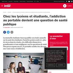 Chez les lycéens et étudiants, l'addiction au portable devient une question de santé publique