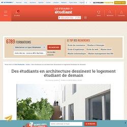 Des étudiants en architecture dessinent le logement étudiant de demain