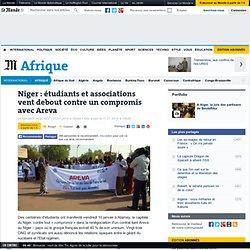 Niger : étudiants et associations vent debout contre un compromis avec Areva