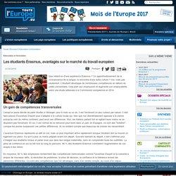 Les étudiants Erasmus, avantagés sur le marché du travail européen
