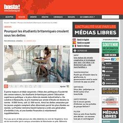 Pourquoi les étudiants britanniques croulent sous les dettes