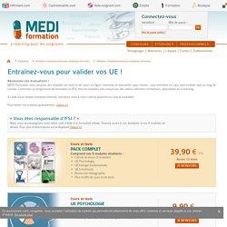 Étudiants IFSI - Cours et tests en ligne sur les UE