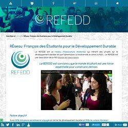 RÉseau Français des Étudiants pour le Développement Durable - REFEDD