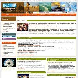 Etudiants / IRD