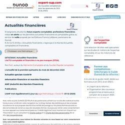 (Dunod) : le site des étudiants et des enseignants en expertise comptable
