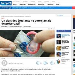 Un tiers des étudiants ne porte jamais de préservatif