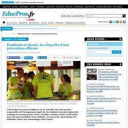 Étudiants et alcool : les cinq clés d'une prévention efficace