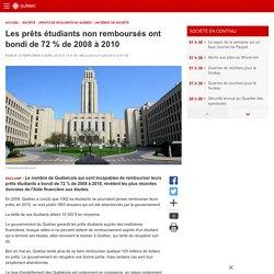 Les prêts étudiants non remboursés ont bondi de 72% de 2008 à2010