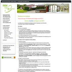 ISEK - Etudiants non-résidents