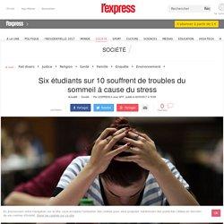 Six étudiants sur 10 souffrent de troubles du sommeil à cause du stress