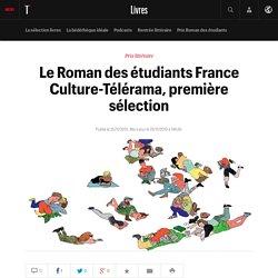 #SELECTION800 Le Roman des étudiants France Culture-Télérama, première sélection: Christine Angot, Christophe ...