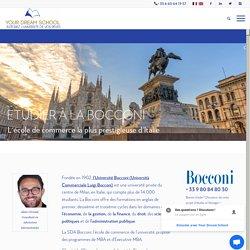 Etudier à la Bocconi en Italie - Your Dream School