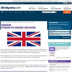 Etudier en Grande-Bretagne