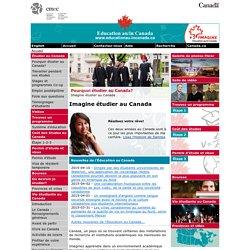 Étudier à l'étranger au Canada