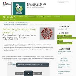 Etudier le génome du virus Covid-19