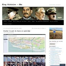 Etudier le port du Havre en quatrième